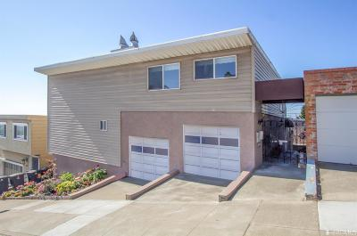 San Francisco Single Family Home For Sale: 2109 14th Ave