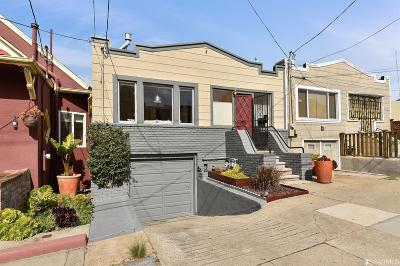 San Francisco Single Family Home For Sale: 222 Naples St