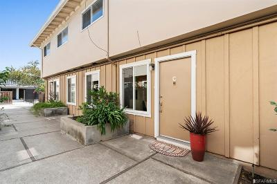 San Mateo Condo/Townhouse For Sale: 3355 La Selva St #C