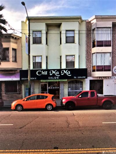 San Francisco CA Multi Family Home For Sale: $1,900,000