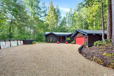 Sonoma County Single Family Home For Sale: 22089 Ruoff Rd