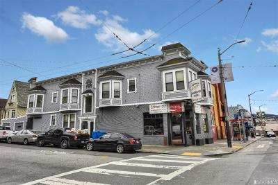 Multi Family Home For Sale: 3801 Mission St