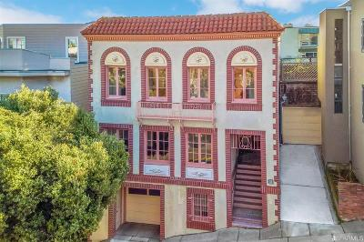 Multi Family Home For Sale: 3036 3038 Divisadero St