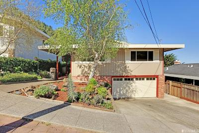 Pacifica Single Family Home For Sale: 330 Reichling Ave