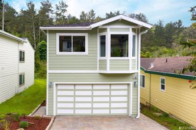 Pacifica Single Family Home For Sale: 790 ROCKAWAY BEACH Ave