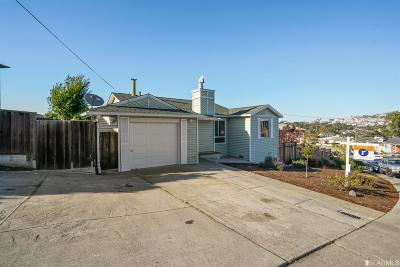 Daly City Single Family Home For Sale: 1112 Nimitz Dr
