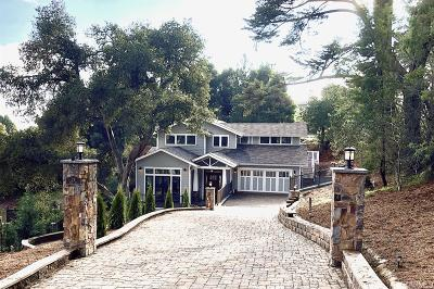 Marin County Single Family Home For Sale: 31 Ridge Ave