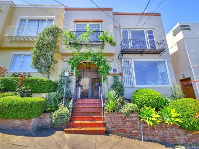 San Francisco Multi Family Home For Sale: 406 Douglass St