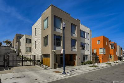San Francisco Condo/Townhouse For Sale: 501 Hudson Ave #302