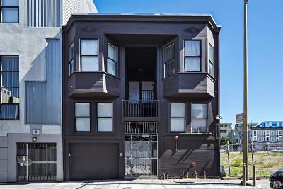 Multi Family Home For Sale: 757 Natoma St