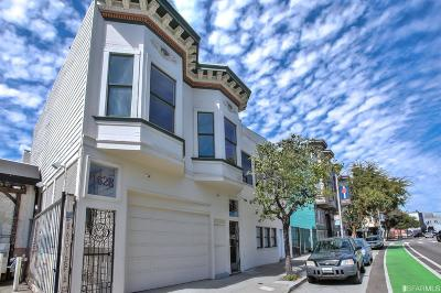 Single Family Home For Sale: 1626 28 Folsom St