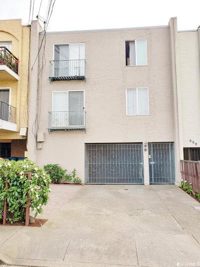 Daly City Multi Family Home For Sale: 672 Villa St