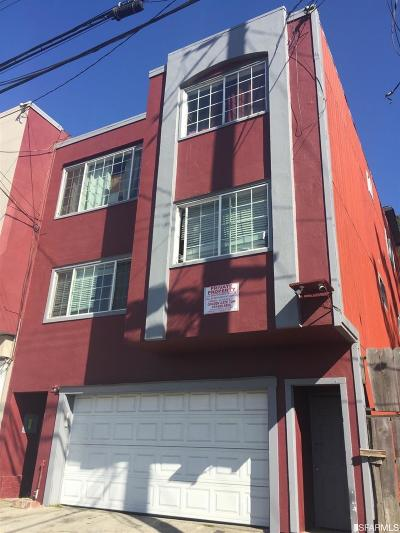 Daly City Multi Family Home For Sale: 97 Lausanne Ave