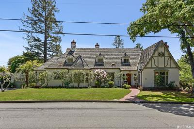 Marin County Single Family Home For Sale: 87 Forbes Ave