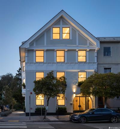 San Francisco County Condo/Townhouse For Sale: 754 Lake St