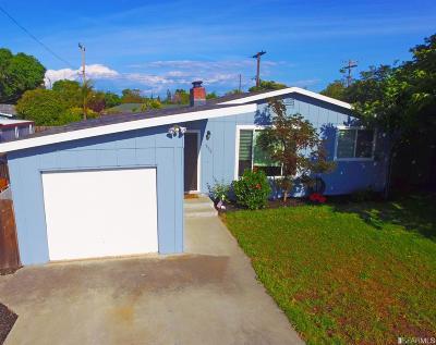 Santa Clara County Single Family Home For Sale: 808 San Rafael St