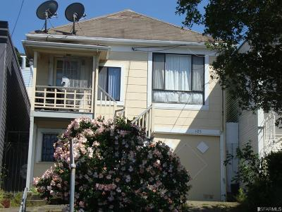 San Francisco Single Family Home For Sale: 105 Vienna St