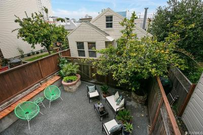 San Francisco County Condo/Townhouse For Sale: 1261 A Filbert St