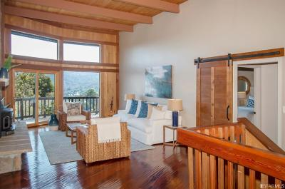 Marin County Single Family Home For Sale: 540 Sequoia Dr