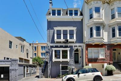 San Francisco County Condo/Townhouse For Sale: 1724 Larkin St