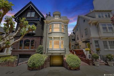 Single Family Home For Sale: 3530 Washington St