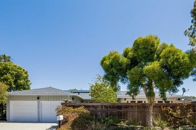 Marin County Single Family Home For Sale: 162 Trinidad Dr