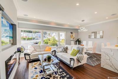 San Francisco County Single Family Home For Sale: 60 Racine Ln