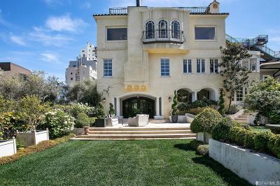 San Francisco CA Single Family Home For Sale: $13,800,000