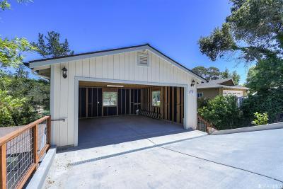 Marin County Single Family Home For Sale: 54 Fair Dr