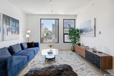 San Francisco Condo/Townhouse For Sale: 719 Larkin St #601