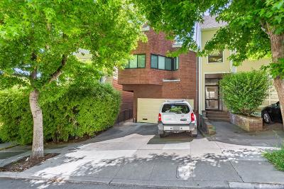 San Francisco County Condo/Townhouse For Sale: 1258 Stanyan