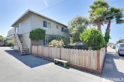 Half Moon Bay Multi Family Home For Sale: 474 Willow Ave
