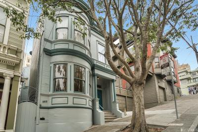 Multi Family Home For Sale: 985 989 Lombard St
