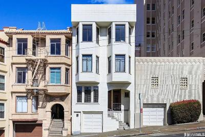 San Francisco Multi Family Home For Sale: 1172 1176 Union St