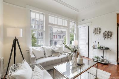 San Francisco Condo/Townhouse For Sale: 262 Frederick St #2