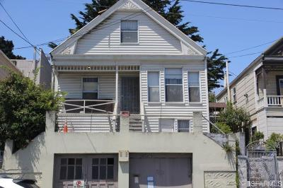 San Francisco Single Family Home For Sale: 736 Girard St