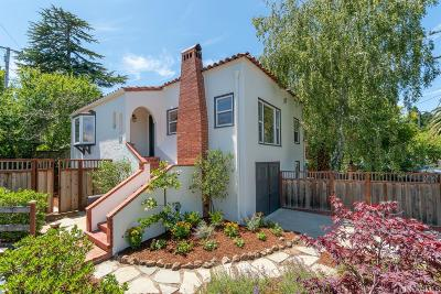 Marin County Single Family Home For Sale: 55 Park Ave