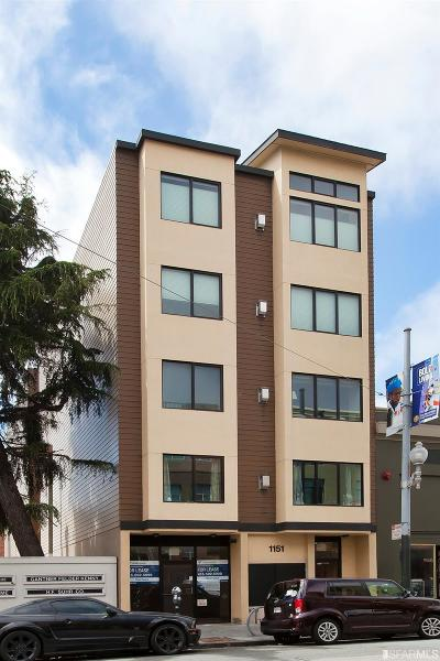 San Francisco County Condo/Townhouse For Sale: 1151 Sutter St #102
