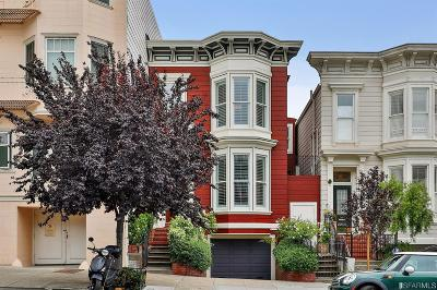 Single Family Home For Sale: 2208 Steiner St