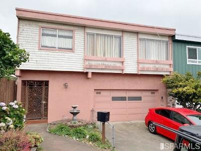 San Francisco County Single Family Home For Sale: 1 Byron Ct