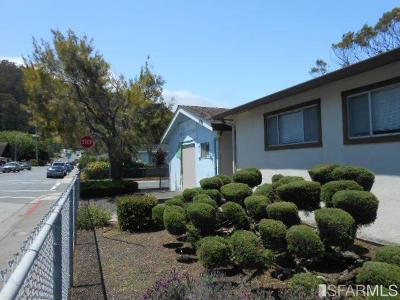 Pacifica Single Family Home For Sale: 1496 Adobe Dr