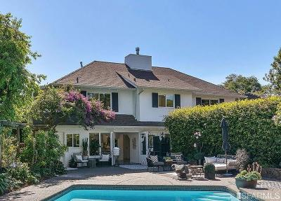Marin County Single Family Home For Sale: 59 Ridge Ave