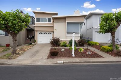 Daly City Single Family Home For Sale: 15 Fairmont Dr