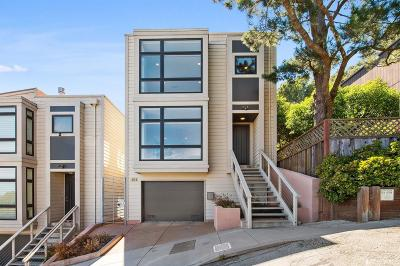 San Francisco County Single Family Home For Sale: 52 Prentiss St