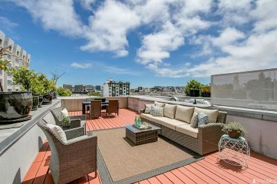 Condo/Townhouse For Sale: 855 Folsom St #523