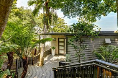 Marin County Single Family Home For Sale: 290 Beach Rd