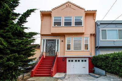 Daly City Single Family Home For Sale: 9 Shakespeare St