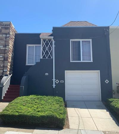 San Francisco Single Family Home For Sale: 34 Beverly St