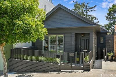 San Francisco Single Family Home For Sale: 25 Romain St