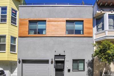 San Francisco Single Family Home For Sale: 532 Natoma St